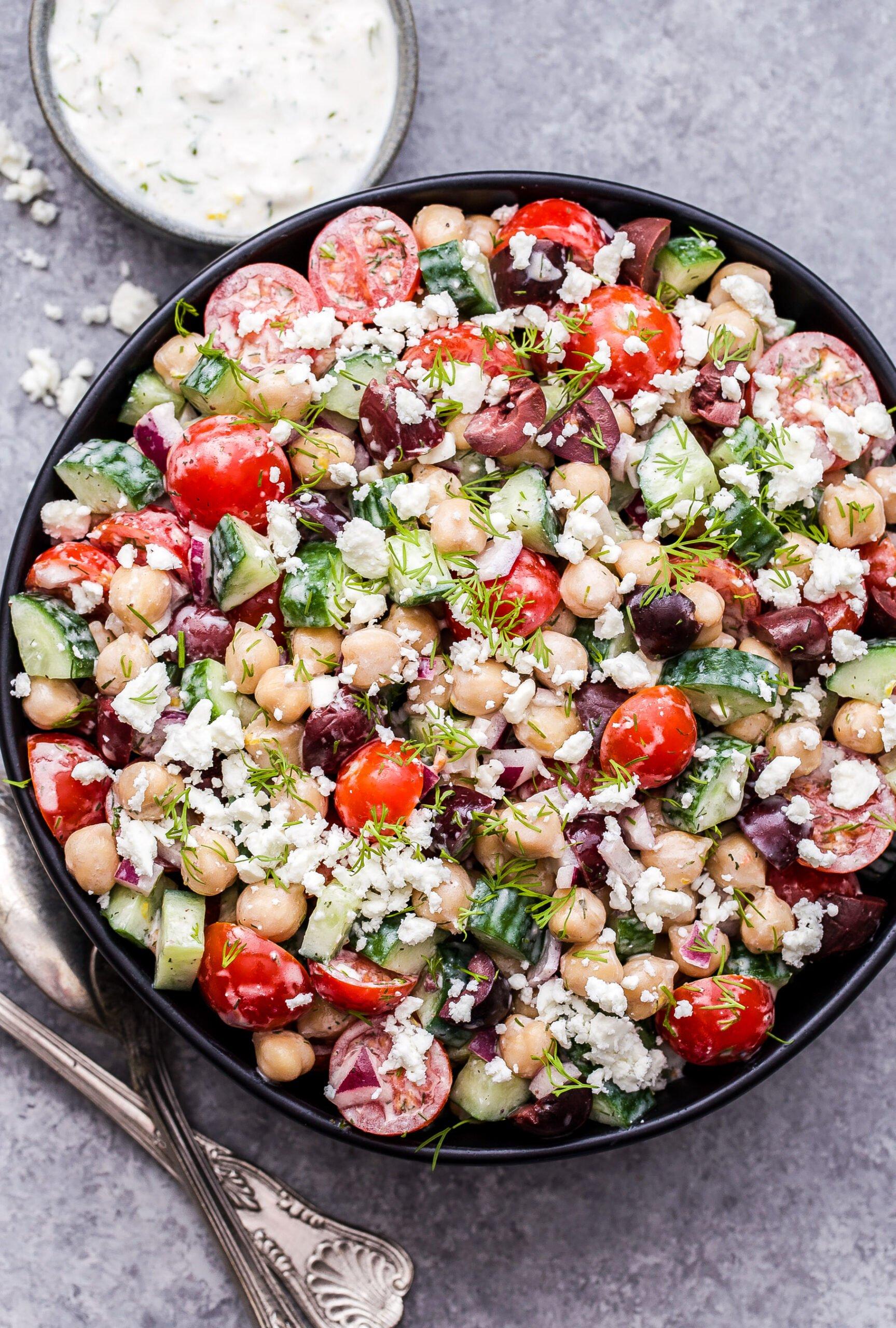 Greek Salad Recipe Dill