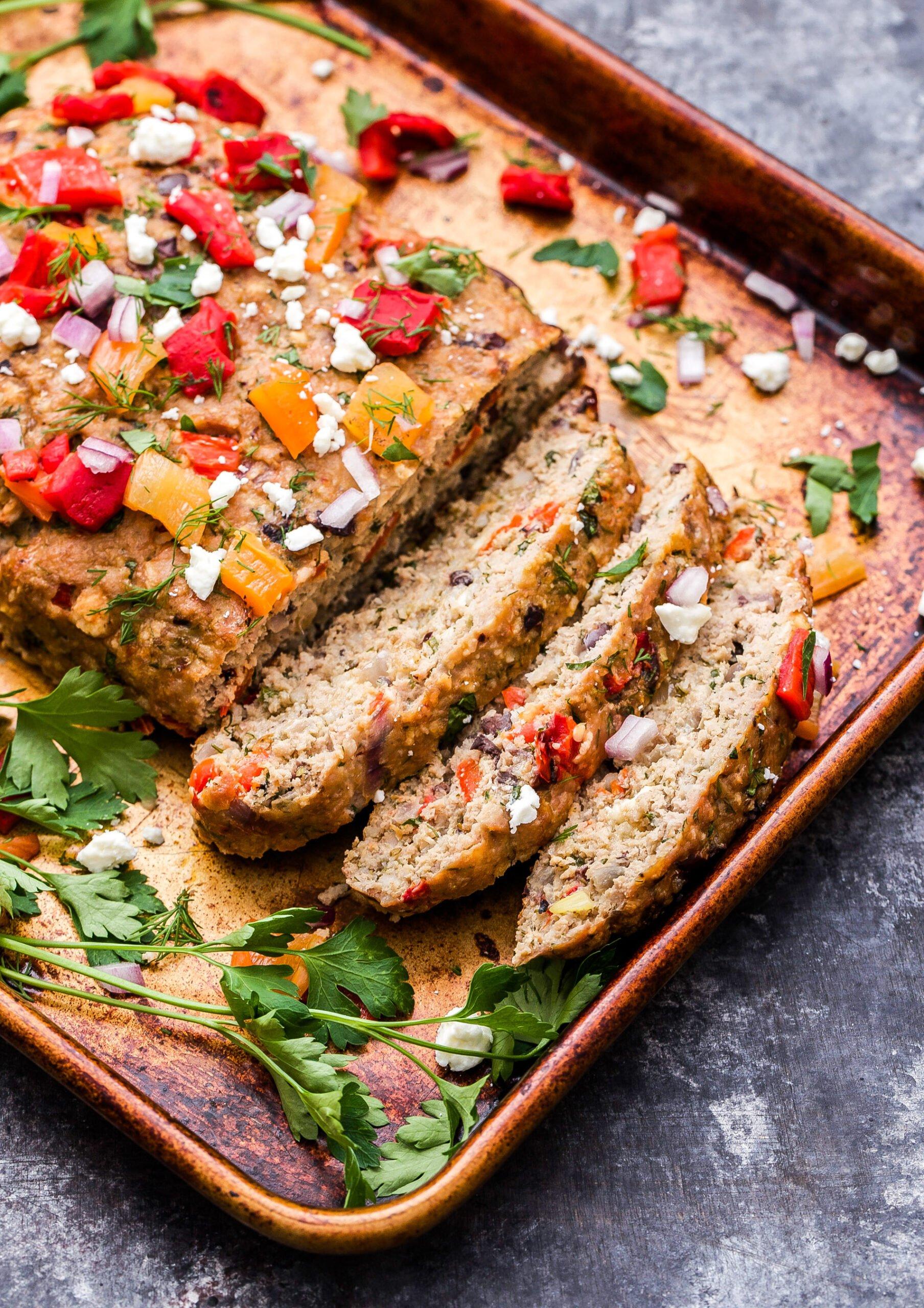 Mediterranean Turkey Meatloaf Recipe Runner