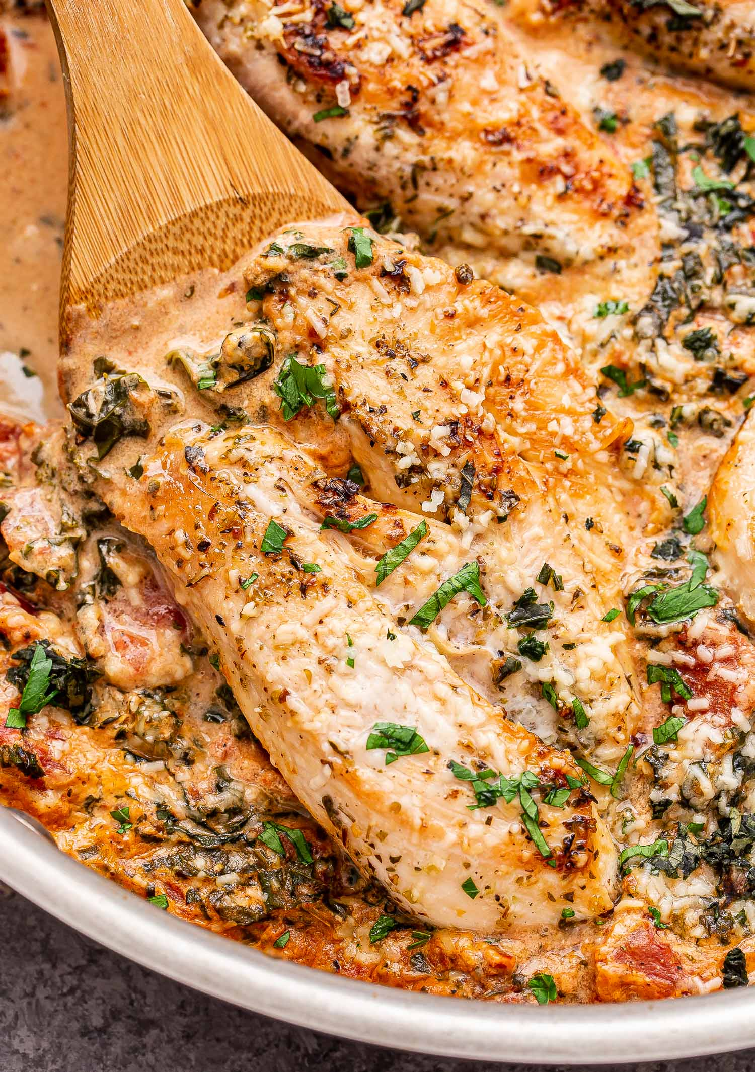 Creamy Italian Chicken Skillet Recipe Runner